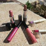 Barras de labios y glosses