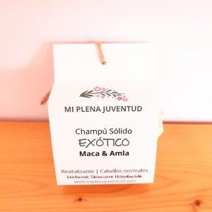 Champú Sólido Ecológico de Maca y Amla