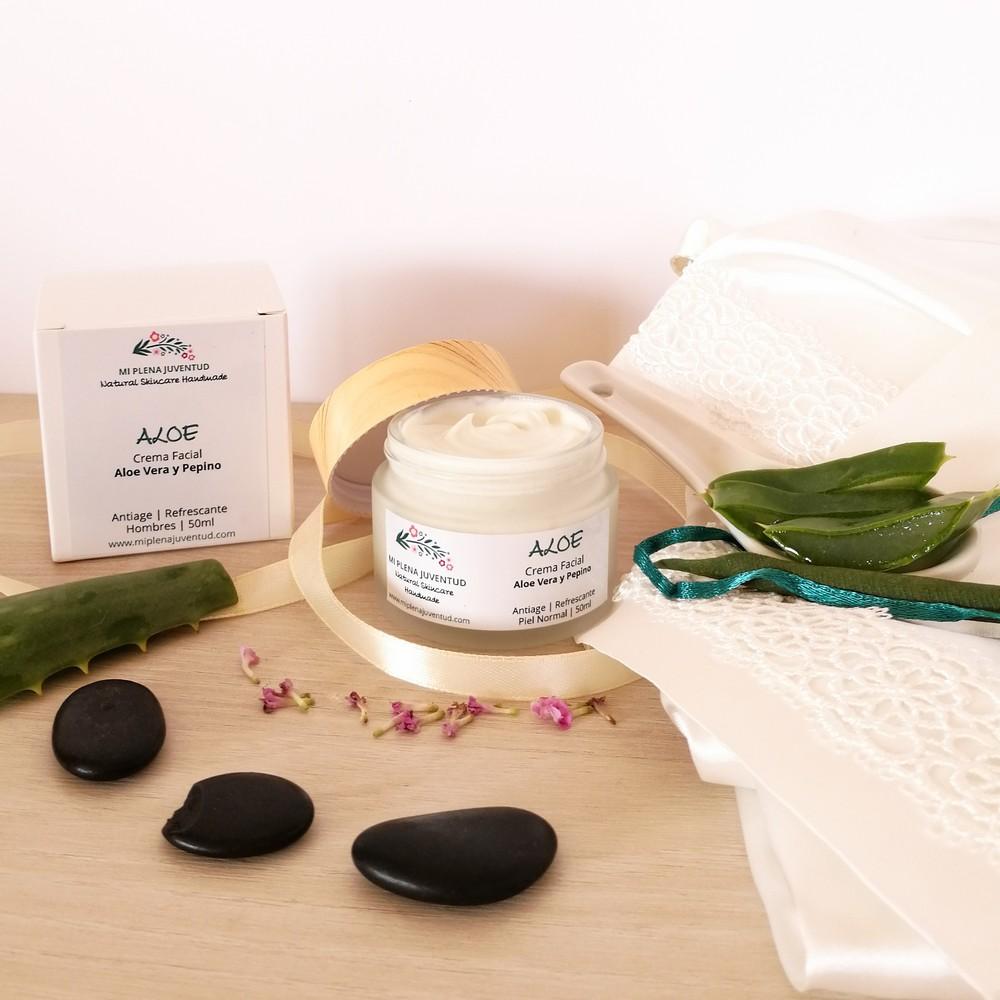 Crema Antiarrugas de Aloe Vera 2