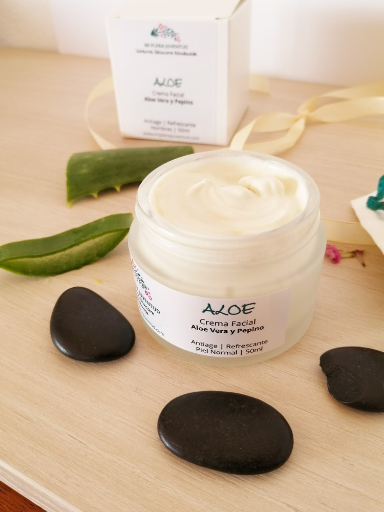 Crema Antiarrugas de Aloe Vera 4
