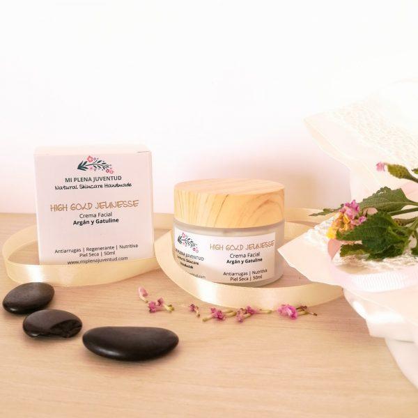 Crema Antiarrugas de Argán Para Piel Seca