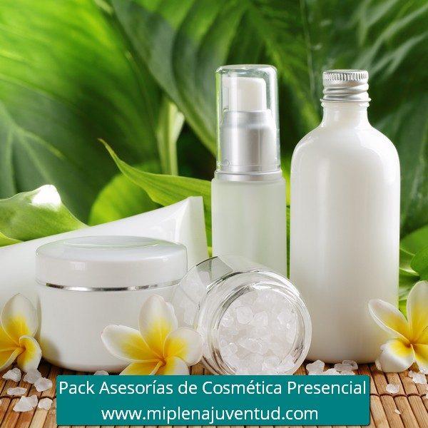 Pack Asesorías de Cosmética Presencial